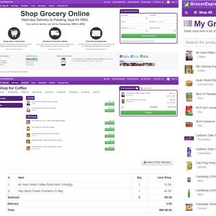 Shop Grocery Online