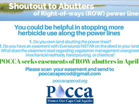 RIGHT-OF-WAYS ABUTTERS PROTECT YOURSELF  from Herbicide Application by Eversource