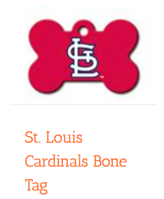 St. Louis Cardinals Bone, ID Tag