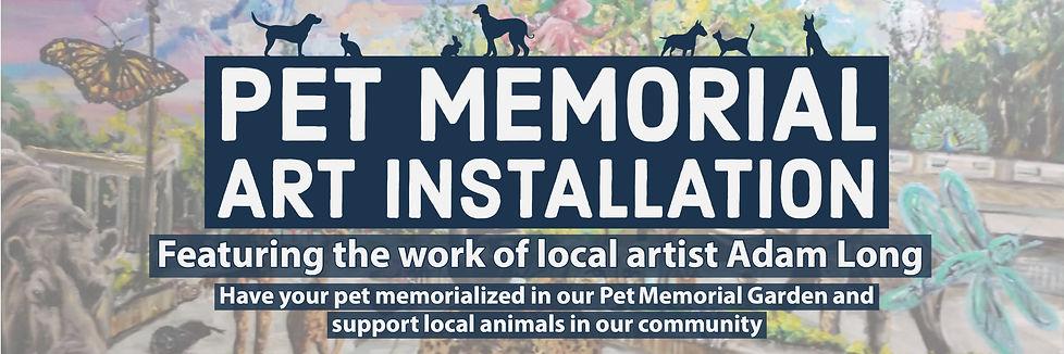 Pet Memorial Art Installation website Ba