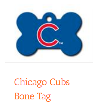 Chicago Cubs Bone, ID Tag