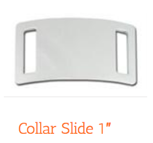 "1"" Chrome Collar Slide"