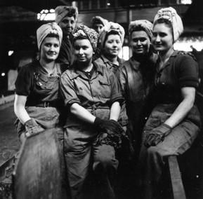 Klaubfrauen Kohlesortierung, Ruhrgebiet, 1950, Internet