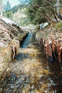 Wasser Rinnwerk Reinfalzalm 2019, Archiv Kranabitl