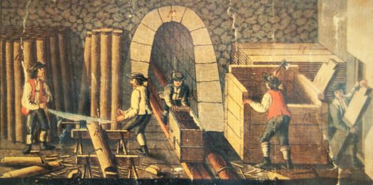 ischler salzberg_verschiedene tätigkeiten_F.X.Kefer_1825_archiv salinen austria