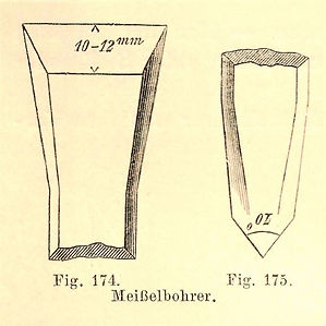 Meißelbohrer, Köhler, 1903