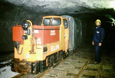 Kaiser Franz Josef – Erbstollen, Zentralschacht Bahnhof, 09 1991, Archiv Kranabitl