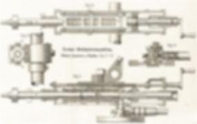 Elektrische Kurbelstoßbohrmaschine von Siemens & Halske, Paul Sorgo, 1897