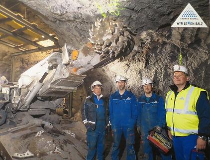 Teilschnittmaschine IBS, Mining and Tunneling, 2020, Salinen Austria