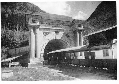 "Kaiser Franz Josef – Erbstollen, Portal, um 1966, aus ""Ischler Heimatbuch I"""