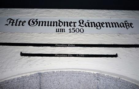 Gmundner Längenmaße, Haus Kirchengasse Nr. 2, Archiv Nussbaumer