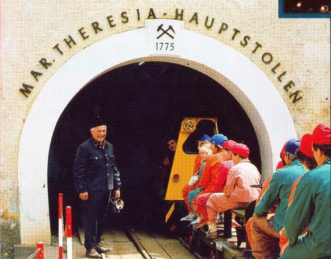 Kaiserin Maria Theresia – Stollen, Fremdeneinfahrt, Führer Hauser Poid, um 1990, ÖSAG