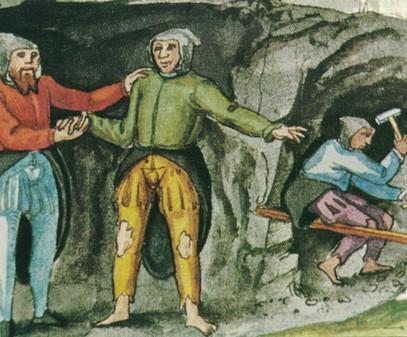 """Knappenbekleidung, 16. Jh., Gruber """"Rauriser Tal – Gold und Silber"""""""