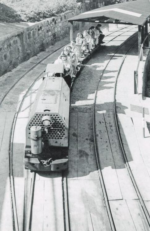 Theresia Stollen Einfahrt 1974