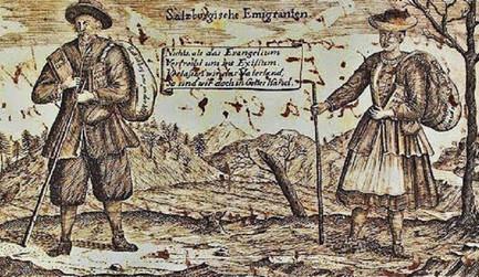 Salzburger Emigranten, 1732, Internet