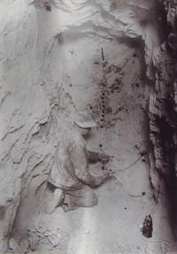 Kaiserin Maria Theresia – Stollen, Streckenvortrieb, Sprengarbeiten, um 1930, Archiv Kranabitl