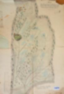 Drainageplan Reinfalz 1854, SBB Bad Ischl