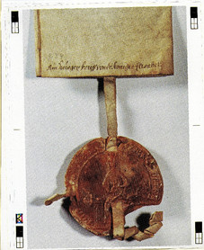 Hallstatt, Marktrecht, Urkundensiegel, Archiv Nussbaumer