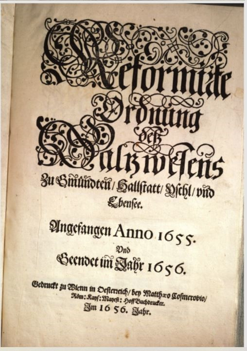 3. Reformationslibell 1656, Deckblatt, ÖNB