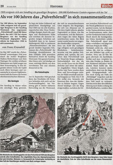 Bericht Ischler Woche 10.06.2020 100 Jah