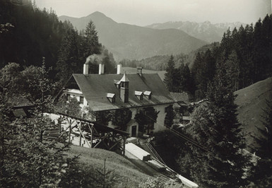 Kaiserin Maria Theresia – Stollen, Knappenhaus, um 1930, Archiv Nussbaumer