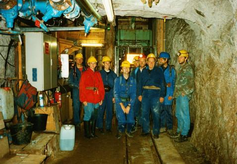 II. Tiefbau, Zentralschacht, Füllort, 09 1998, Archiv Kranabitl