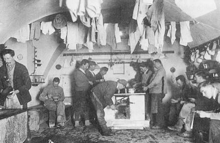 ausseer salzberg_mannschaftsküche_um 1930_aus preßlinger bergbau liezen