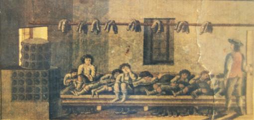ischler salzberg_knappenstube_F.X.Kefer_1825_archiv salinen austria