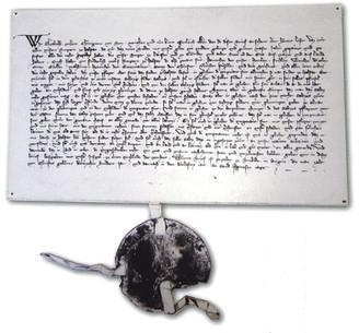 Hallstatt, Marktrecht, Urkunde 1311, Archiv Nussbaumer