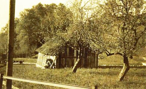 """Gipsstampfe in Perneck, Gebäude vor 1944, aus Schiendorfer """"Perneck"""""""