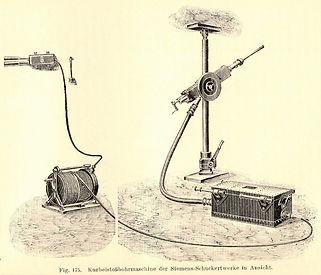 Elektrische Kurbelstoßbohrmaschine von Siemens & Halske, Heise - Herbst, 1908
