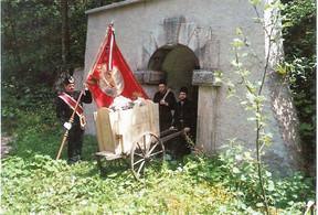 Kaiser Leopold – Stollen, historische Förderung, Archiv Feichtinger