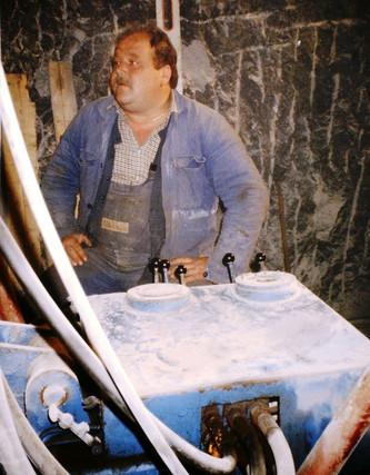 II. Tiefbau, Sondenbohrung, 09 1991, Archiv Kranabitl