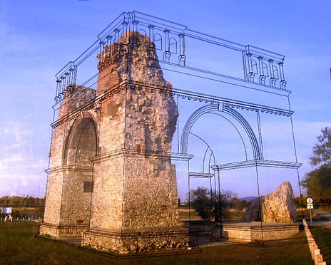 Heidentor Carnuntum, Wikipedia