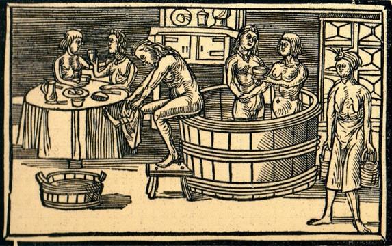Badstube beim Bader, Mittelalter, Internet