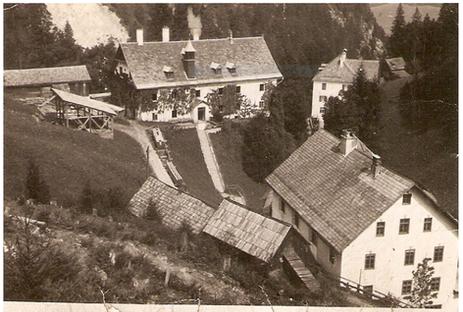 theresia stollen_berghäuser_1930 um_archiv salinen austria