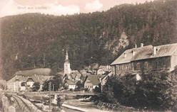 Ansicht von Lauffen, um 1915, Internet