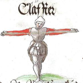Klafter, Schwazer Bergwerksbuch, 1556, Internet