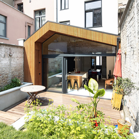 LST - Extension d'une maison unifamiliale