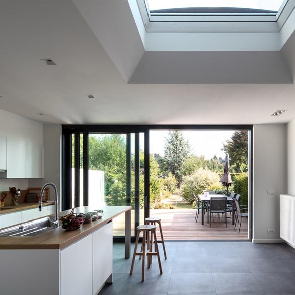 TVR - Extension d'un maison unifamiliale