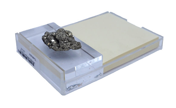 Post-It Geode Acrylic Holder w/ Paperweight Pyrite Cluster