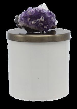 26 oz Grande Geode Amethyst