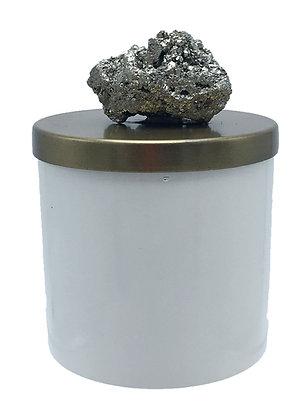 26 oz Grande Geode Pyrite Cluster