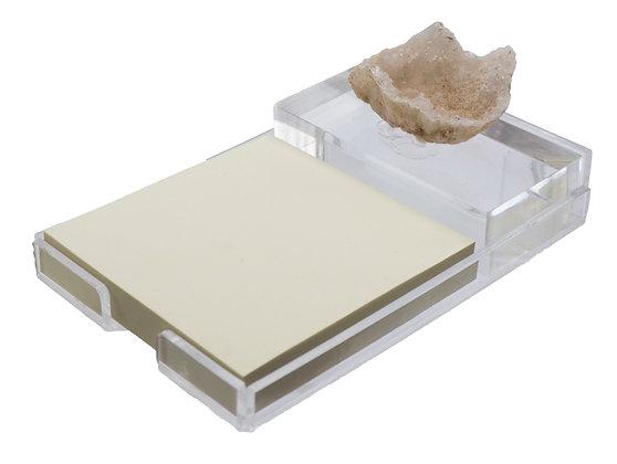 Post-It Geode Acrylic Holder w/ Paperweight Druzy