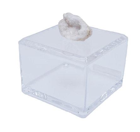 Geode Acrylic Box 4x4 Druzy