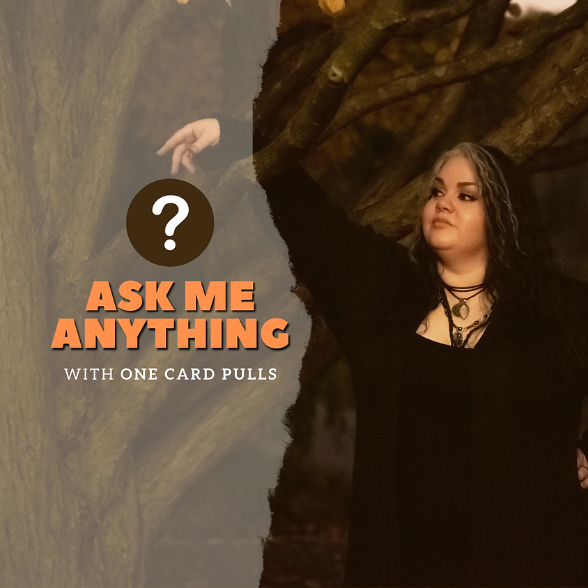 Live Ask Me Anything & Card Pull