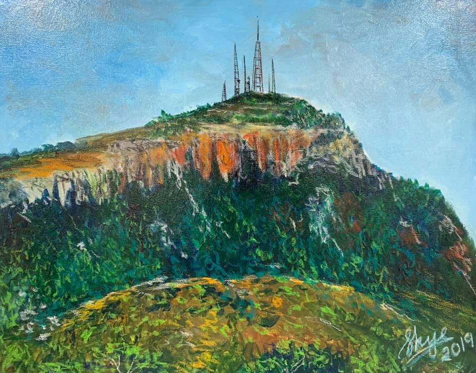 Multi-media Mount Stuart