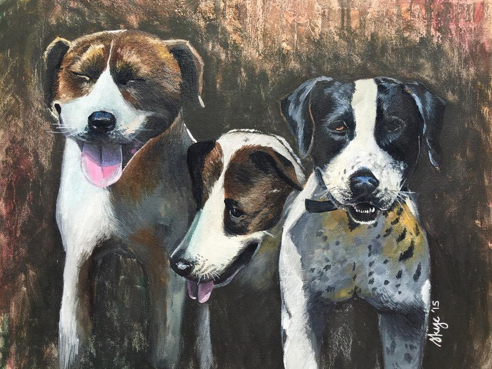 Farm dogs  Private Commission