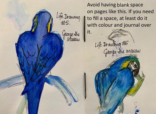 Life Drawing George #2