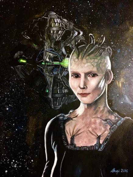StarTrek Borg Queen